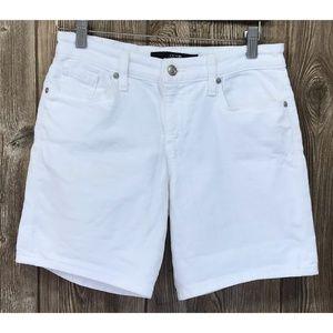Joes Size 25 White Jean Denim Shorts